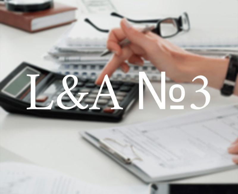 Law & Accounting: обсуждения из чата - №3