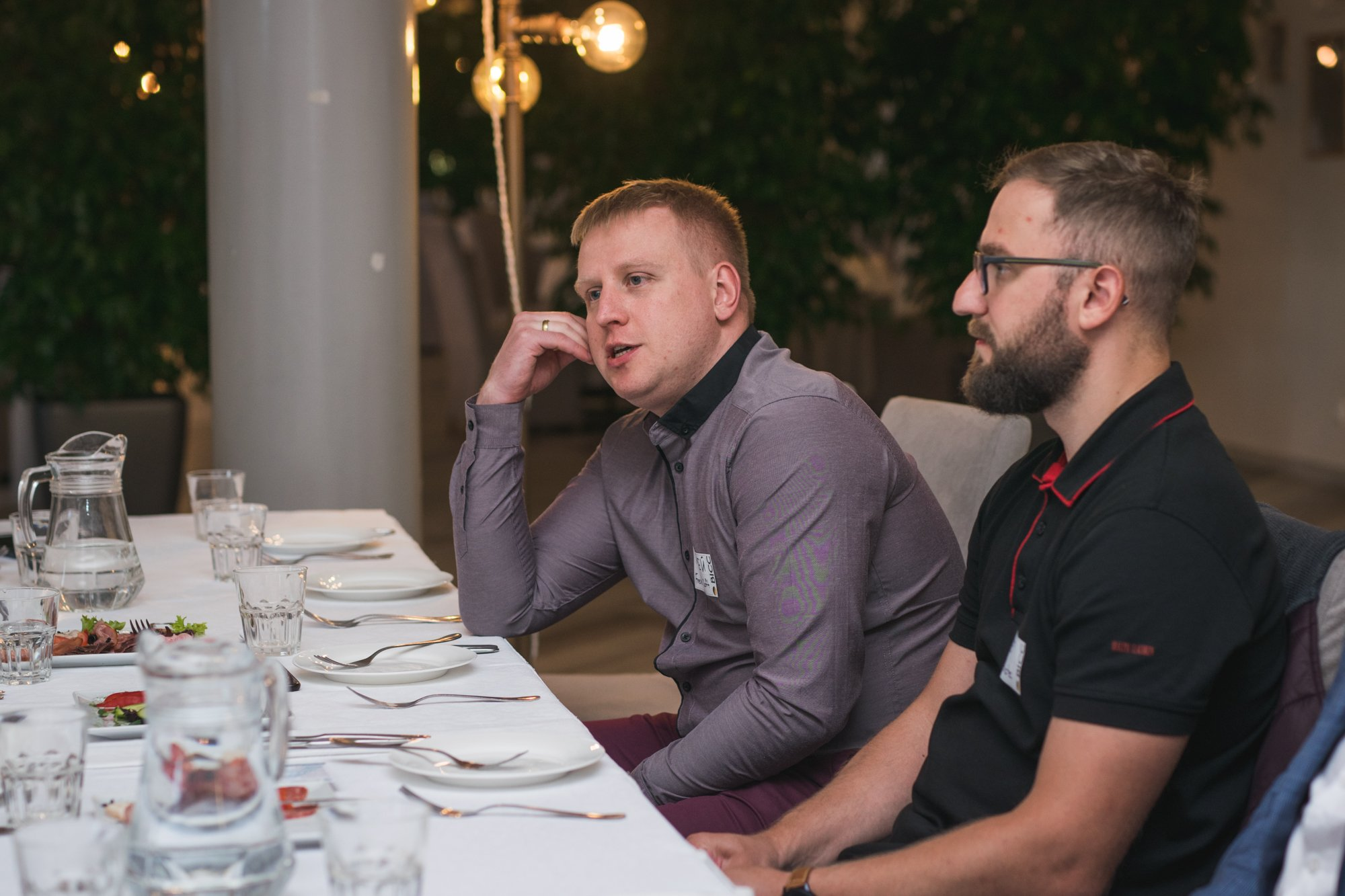 участники CEO Club на встрече Клуба в ресторане Вестфалия